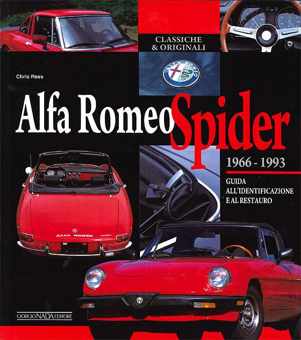 Alfa Romeo Spider 66-93: Identificazione Restauro