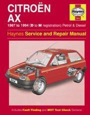 Citroen AX 1987-97 Gas/D