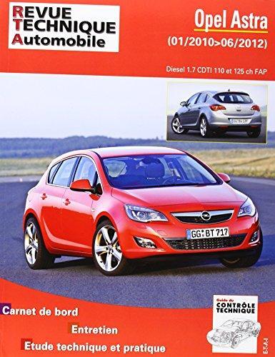 Opel Astra 1.7 CDTI 110/125 ch FAP (RTAB784)