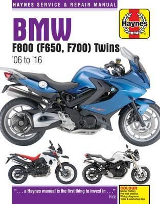 BMW F650, F700 & F800 Twins 2006-16