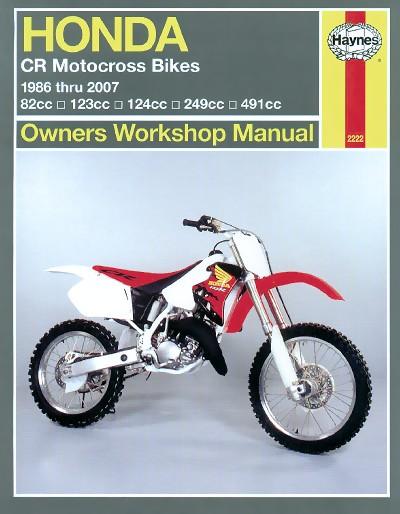 Honda CR Motocross Bikes 1986-2007