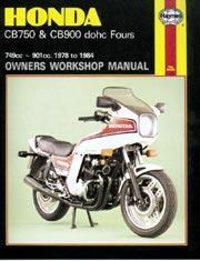 Honda CB 750 & CB900 DOHC Fours 1978-84