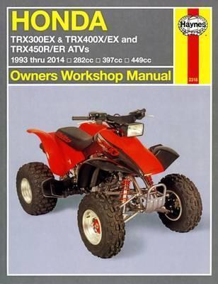Honda TRX300EX, TRX400EX & TRX450R/ER ATVs 1993-06