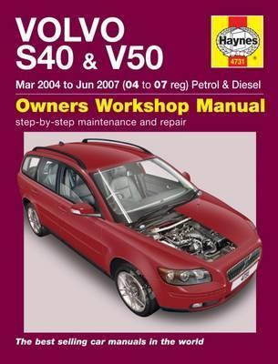 Volvo S40 & V50 Petrol & Diesel 2004-07