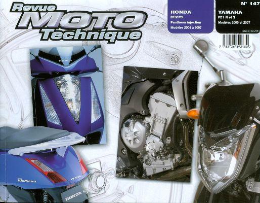 F147 Honda Fes 125 03-07 Yamaha FZ1S+Fazer 2006-07