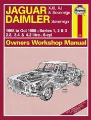 Jaguar XJ6 & XJ, Daimler 1968-86