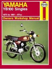 Yamaha YB100 Singles 1973-91