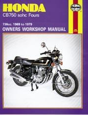 Honda CB 750 SOHC Four 1969-79