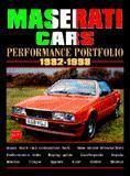 Maserati Cars Performance Porfolio 1982-98