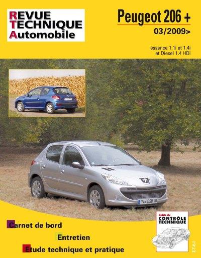 Peugeot 206 2009- Essence+1.4Hdi RTA B735