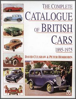 The Complete Catalogue of British Cars 1895-1975