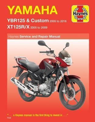 Yamaha YBR125 05-16 & XT125R/X 05-09