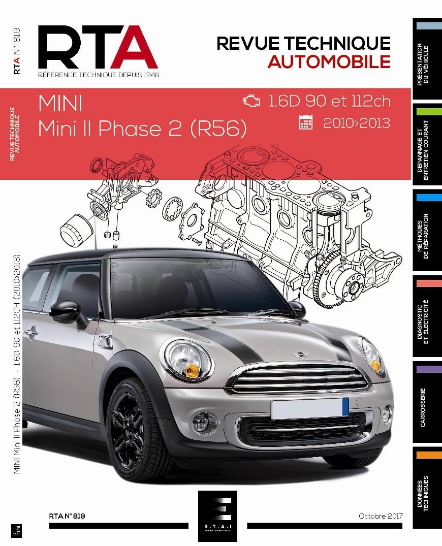 Mini II Ph.2 1.6D 90/112ch 2010-2013 ( RTA819 )