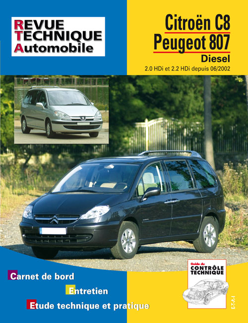 Citroen C8 / Peugeot 807 D depuis 6/2002 RTA669