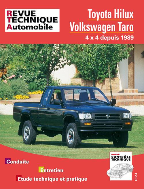 Toyota Hilux, VW Taro, 4x4 depuis 1989 (RTA575)