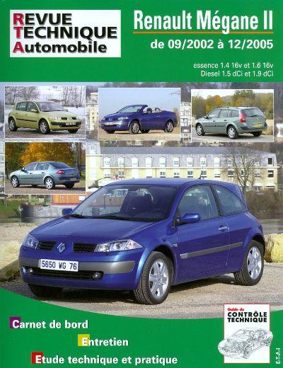 Renault Megane II & Diesel 2002-05  (RTA127)