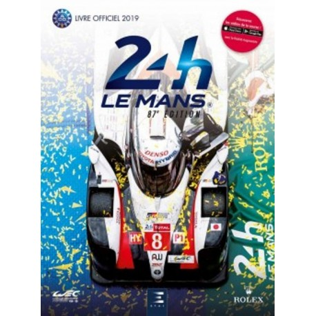 Le Mans 24 Hours 2019: Livre Officiel