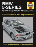 Bmw 5 Series Petrol 1996-03