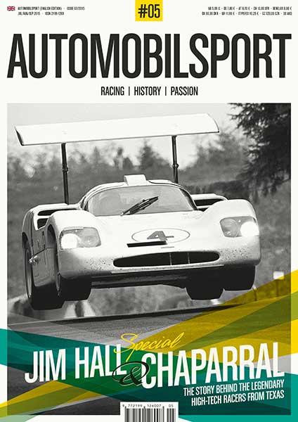 Jim Hall & Chaparral (Vol. 5 Automobilsport)