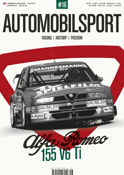 Alfa Romeo 155 V6 Ti (Vol. 16 Automobilsport)