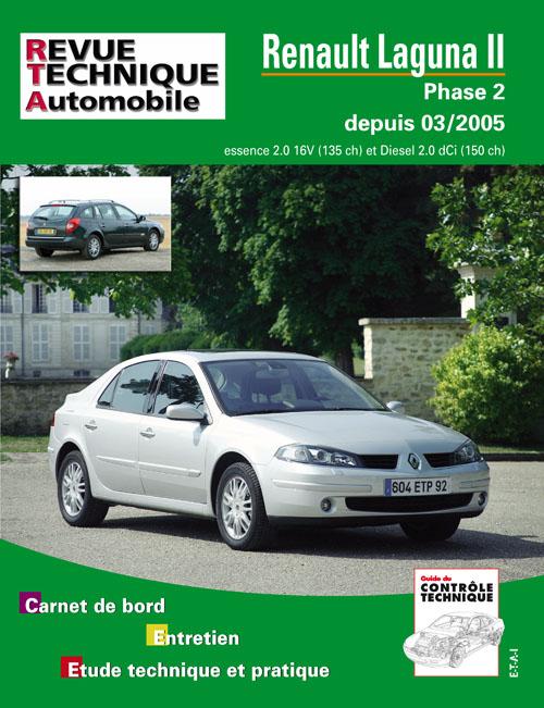 Renault Laguna II 2.0 16V/2.0DCI 03/2005 (RTAB700)