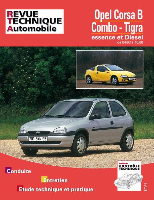 Opel Corsa/Combo/Tigra Ess/D/TD 1993-2000 (RTA563)