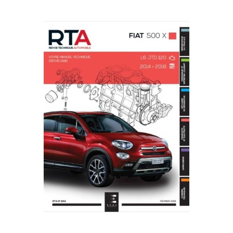 Fiat 500 X 2014-2018 (RTAB834)