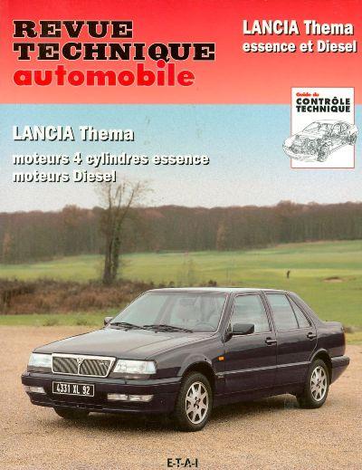 Lancia Thema 4 Cil Gas/D/TD 1984-93 (RTA081)
