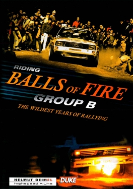 Group B - Riding Balls of Fire DVD