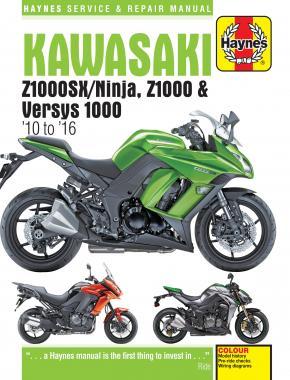 Kawasaki Z1000, Z1000SX & Versys 2010-16
