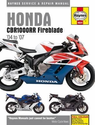 Honda CBR1000RR Fireblade 2004 -07