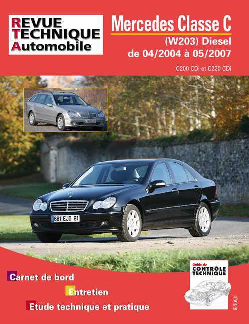 Mercedes Benz C (W203) Diesel 2004-2007 (RTAB713)