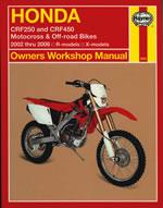 Honda CRF250 & CRF 400 2002-06
