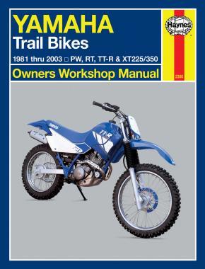 Yamaha Trail Bikes 1981-2003