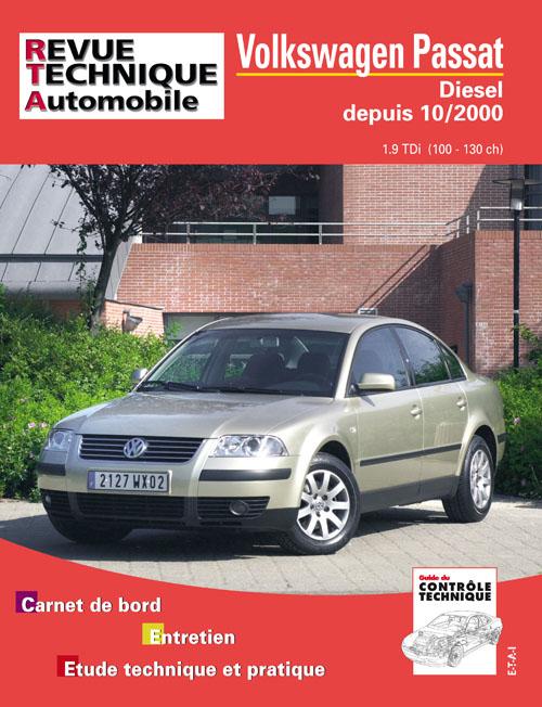 Volkswagen Passat Diesel 1.9 TDI 2000-... (RTA665)