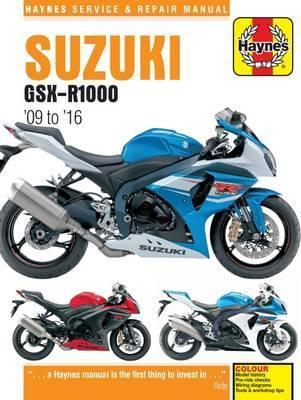 Suzuki GSX-R1000 2009-16