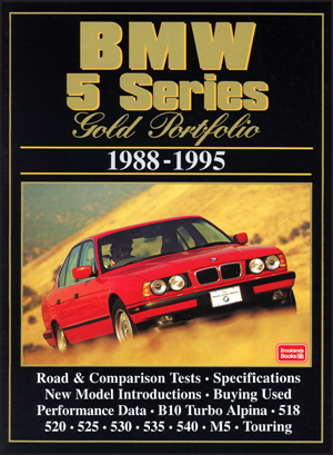 Bmw 5 Series Gold Portfolio 1988-95