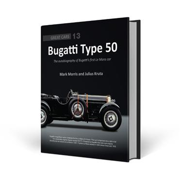 Bugatti Type 50 - Great Car Series
