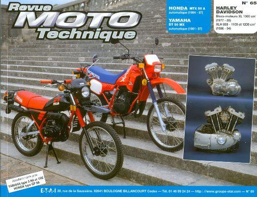 F065 Honda MTX50 Yamaha Dt50MX HarleyXL 77/94