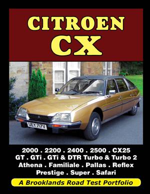 Citroen CX Road Test Portfolio