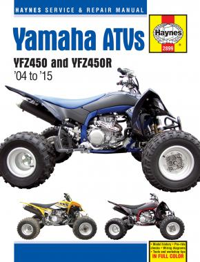Yamaha YFZ450 & YFZ450R ATVs 04-15