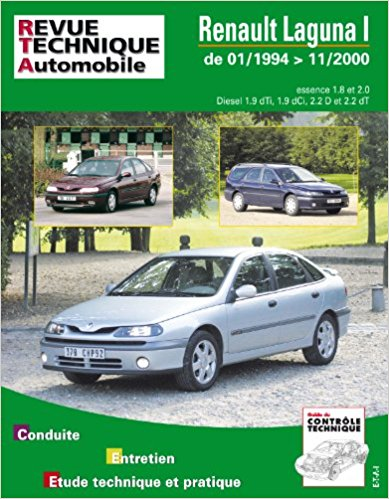 Renault Laguna Phase I & II Gasolina & TD (RTA123)