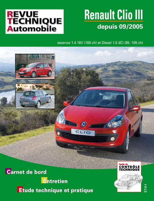 Renault Clio 3 1.4 16v 1.5 DCi 85/105 RTA B702