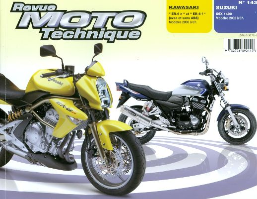 F143 Kawasaki ER6 2006 Syuzuki GSX1400 2002-06