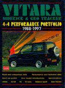 Suzuki Vitara, Side - Kick, G Tracker 4X4 1988-9