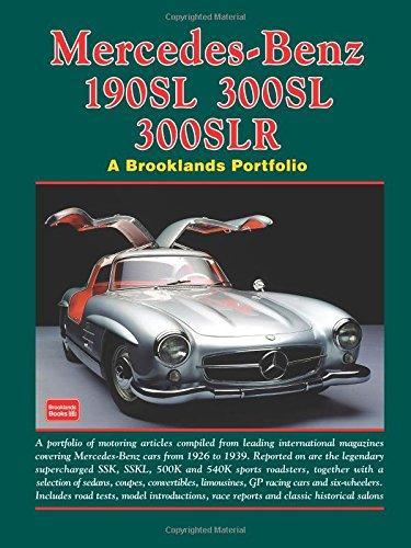 Mercedes Benz 190SL/300SL/300SLR Brooklands Portf