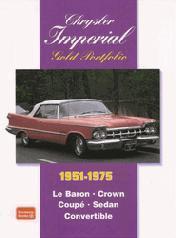 Chrysler Imperial Gold Portfolio 1951-75