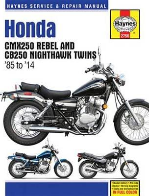 Honda CMX250 Rebel & CB250 Nighthawk Twins 1985-09
