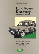 Land Rover Discovery 90-94 V8 3.5,3.9,& 200TDI WM