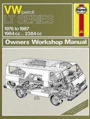 Volkswagen LT Vans & Light Trucks 1976-87